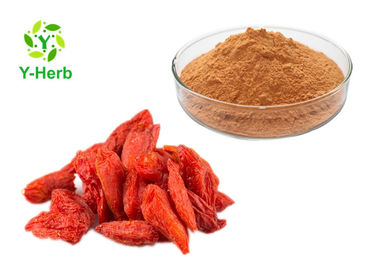 China Pure Goji Juice Concentrate Powder Wolfberry Berry Lycium Barbarum Berry Extract supplier