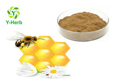 China Skincare Bee Propolis Powder 10% Water Soluble Organic Alcohol Solubility supplier