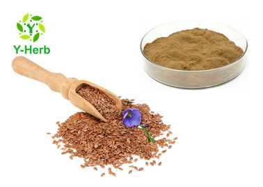 China Secoisolariciresinol Diglucoside Linseed Lignans Powder 20% 40% Common Flax Seed Extract factory