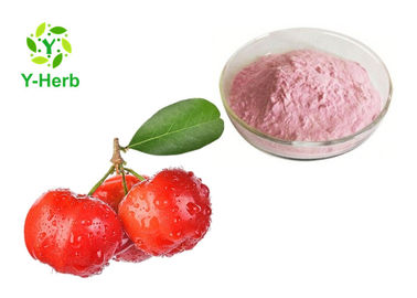 China Natural Fruit Acerola Extract VC Powder 17% 25% With Immune Enhancing HPLC Test factory