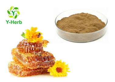 China Food Grade Bee Propolis Powder Propolis Solid Extract 10% 70% 80 Mesh 2 Years Shelf Life factory